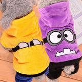 Funny Minions Costume - Puppernaut Dog Products