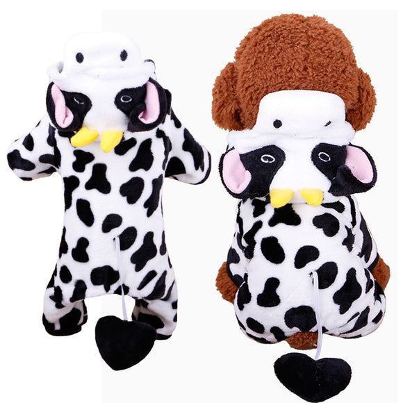 Cow Style Puppy Costume - Puppernaut Dog Products