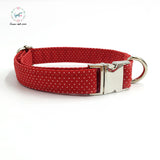 The Dolores Polka Collar - Puppernaut Dog Products