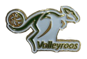 Volleyroos Pin