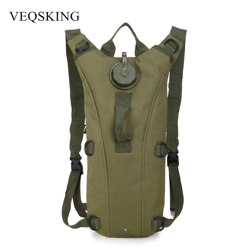 3L Water Bag Outdoor Tactical Hydration Backpack Camping Camelback Nylon