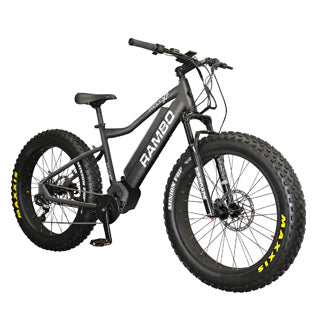 Rambo R1000XPS Xtreme Performance Carbon 48v 1000w Fat Tire Off-Road Electric Bike