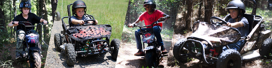 Monster Moto Mini Bikes and Go-Karts