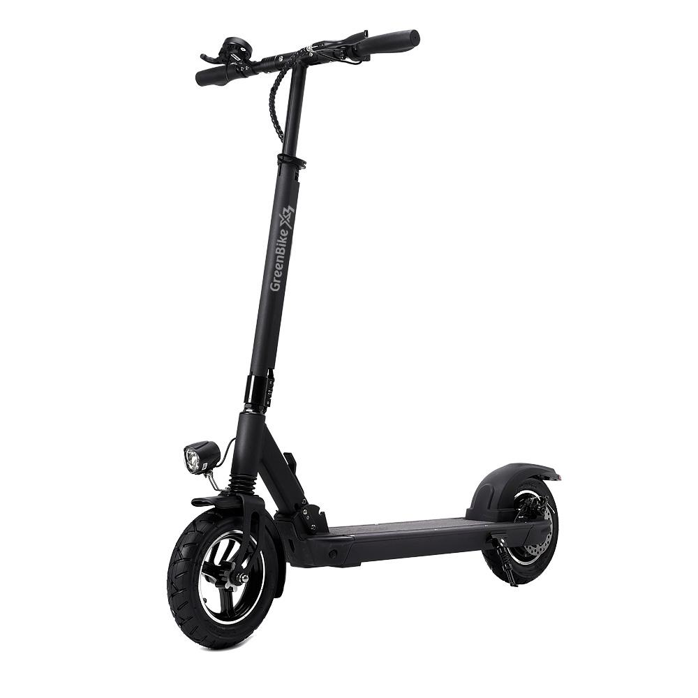 GreenBike Electric Motion - X3 Electric Scooter - Electric Scooter Black Ridetique.com