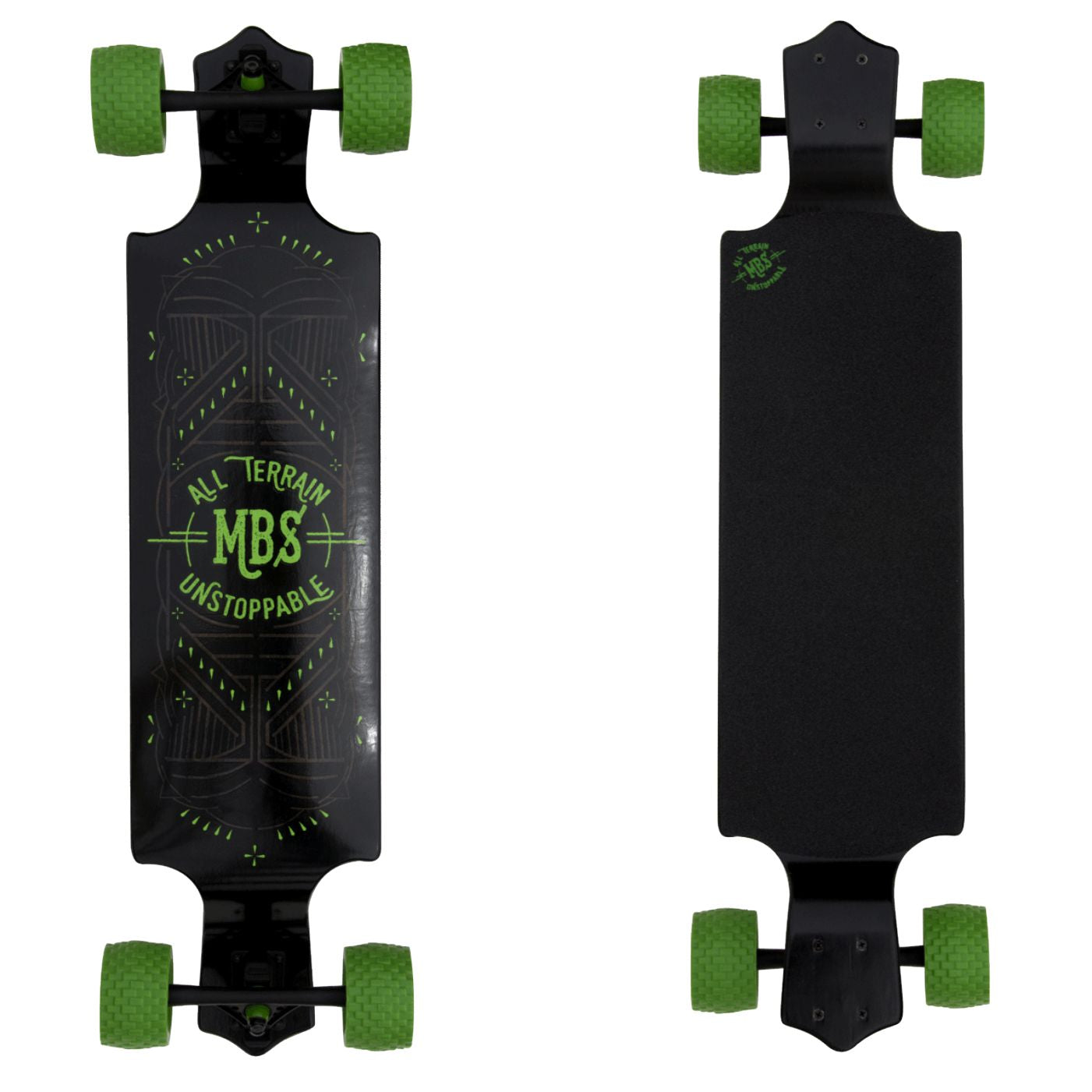 MBS All-Terrain Drop Deck Longboard - 39 Inch
