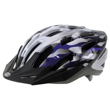 Ventura | Silver/Blue In-Mold Helmet -  Ridetique.com