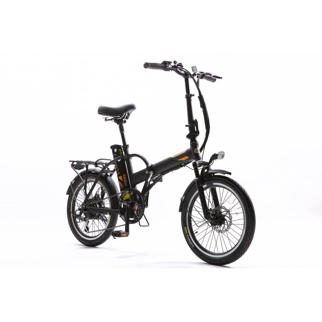 GreenBike Electric Motion  - Classic HS 350w 36 v Folding Bike - Electric Bike Dark Blue Ridetique.com