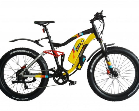 GreenBike Electric Motion - Enduro PHAT 48v 350w Full Suspension Electric Mountain Bike