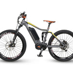 "QuietKat 2020 - Quantum - 1000 & 750 w Electric Mountain Bike -  17"" / 1000 w Ridetique.com"