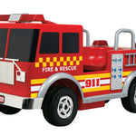 Kalee Fire Truck 12v Ride on for Kids - Ride On Toys Ridetique.com