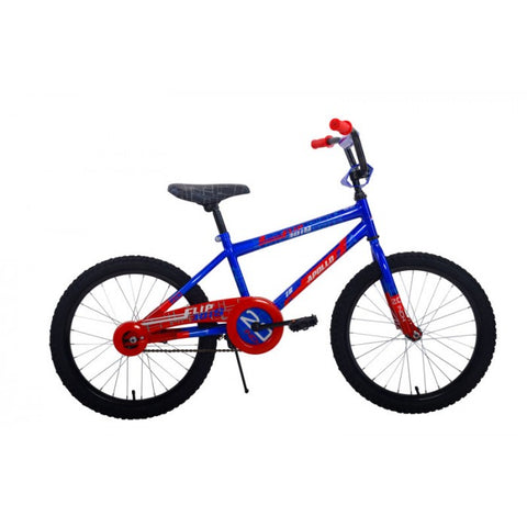 Apollo | Flipside 20 in Boys Blue/Red Kids Bicycle