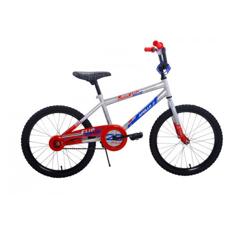 Apollo | Flipside 20 in Boys Silver Kids Bicycle