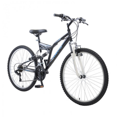 Mantis Ghost 21 Speed 26-Inch Full Suspension Mountain Bicycle - Bicycle Ridetique.com