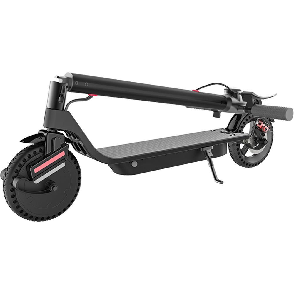 MotoTec 853 Pro 36v 7.5ah 350w Lithium Electric Scooter Black - Electric Scooter Ridetique.com