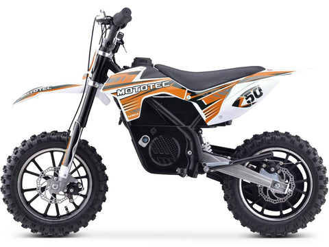 MotoTec 24v 500w Gazella Electric Dirt Bike