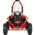 MotoTec Mud Monster Kids 48v 1000w Go Kart Full Suspension - RED