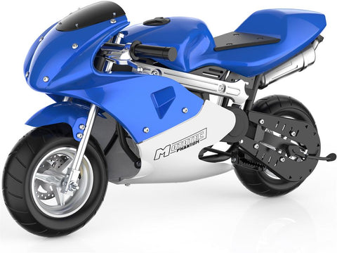MotoTec Phantom Gas Pocket Bike 49cc 2-Stroke