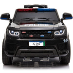 MotoTec Police Car 12v with Remote Control - Electric Mini Quad Ridetique.com