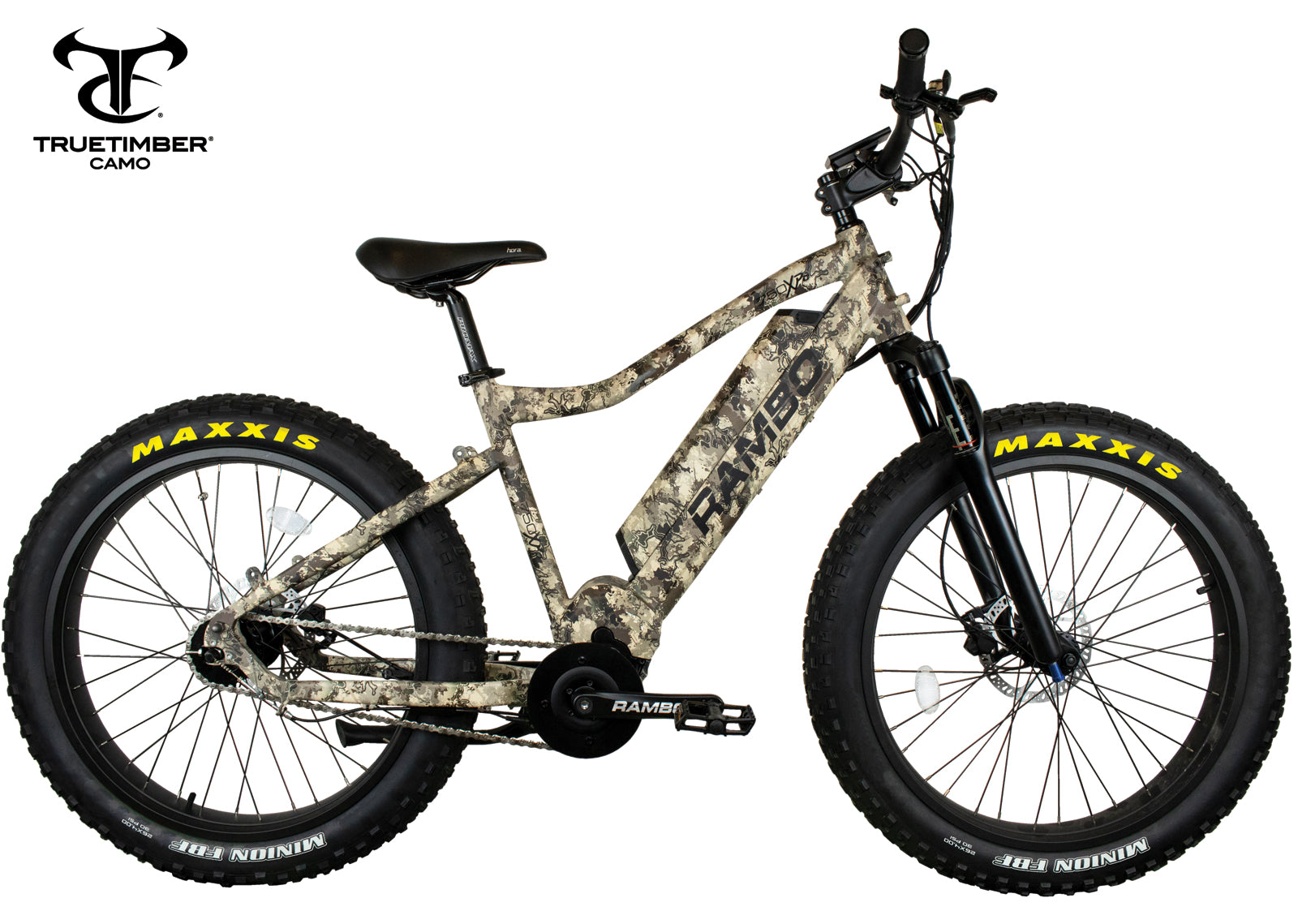 RAMBO NOMAD 750W XPC11 TRUE TIMBER VIPER WESTERN XTREME PERFORMANCE - Electric Bike TRUE TIMBER VIPER Ridetique.com