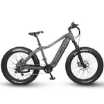 "QuietKat 2020 - Ranger  - 1000 W & 750 W Hunting / Off Road E-Bike -  17"" / Charcoal / 1000 w Ridetique.com"