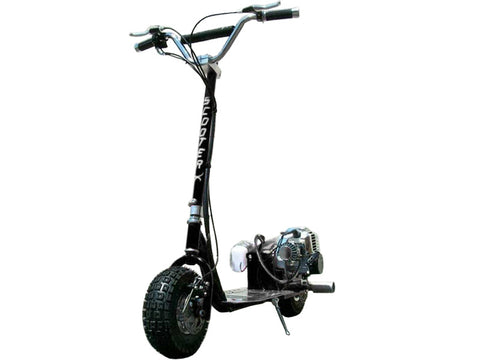ScooterX Dirt Dog 49cc Scooter -  Black Ridetique.com