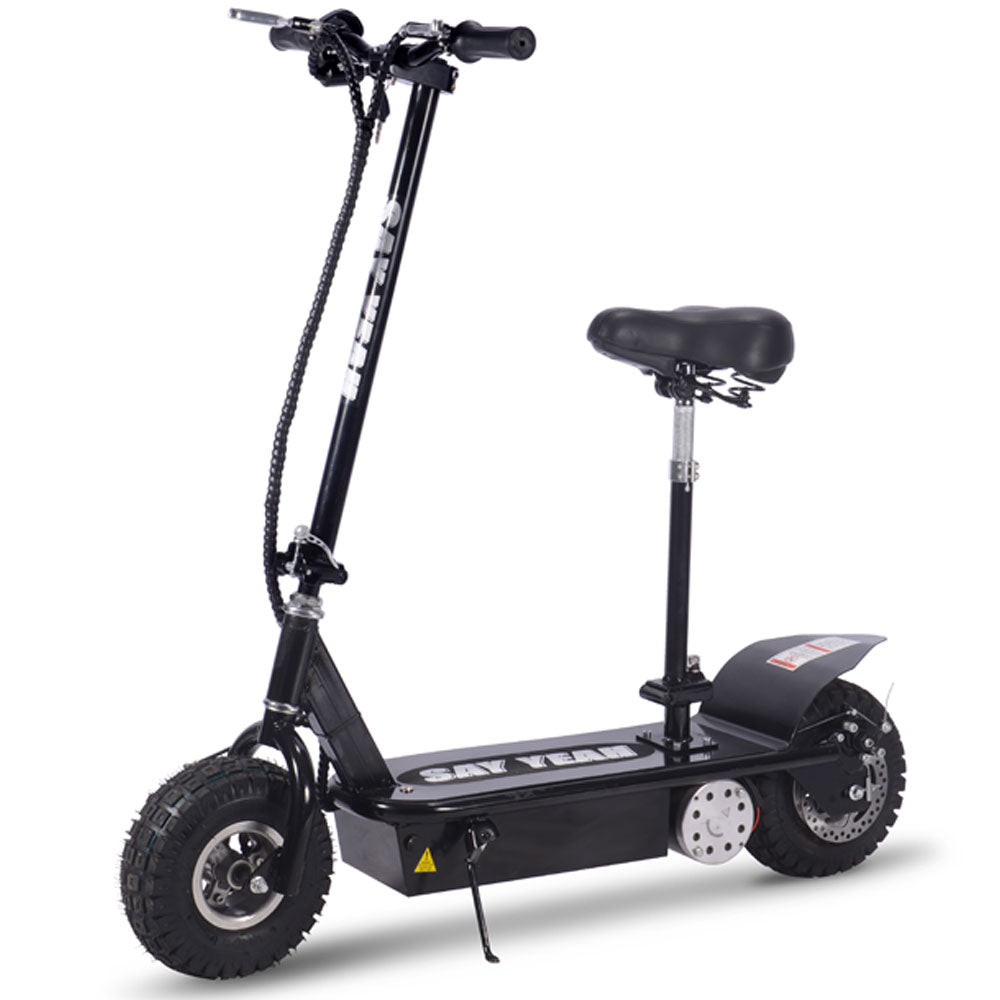 Say Yeah 800w 36v Folding Electric Scooter in Black