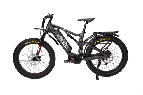 BAKCOU STORM - Mid Drive Electric 48v Fat Tire Hunting Bike-Electric Bike-Ridetique