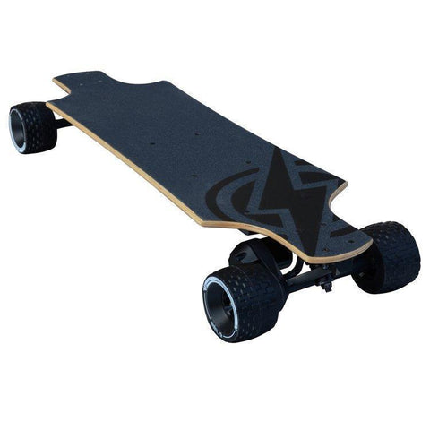 Atom Electric B10X All-Terrain Longboard Skateboard - 1000W Motor / 90Wh Lithium Battery - Electric Longboard Ridetique.com