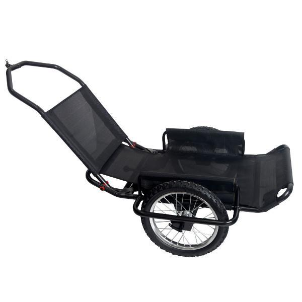Rambo - Aluminum Bike/Hand Cart - Trailer Ridetique.com