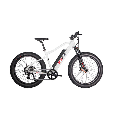 Civi Bike Predator 48v 500w 26 Inch Fat Tire Electric Bicycle - Electric Bike Pearl White Ridetique.com