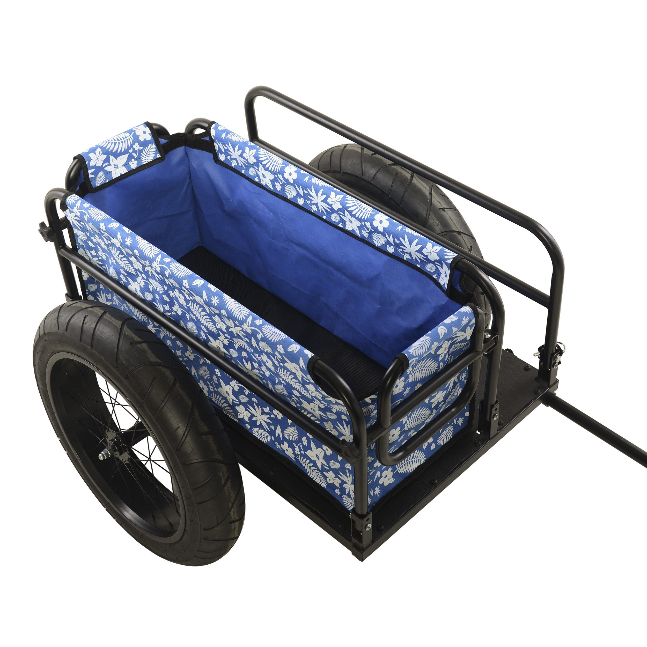 Cycle Force EV Two-Wheel Bicycle Cargo & Surf Board Trailer - Trailer Blue Ridetique.com