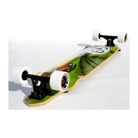 Deville Interstate 41.2-Inch Drop Deck Longboard - Longboard Ridetique.com