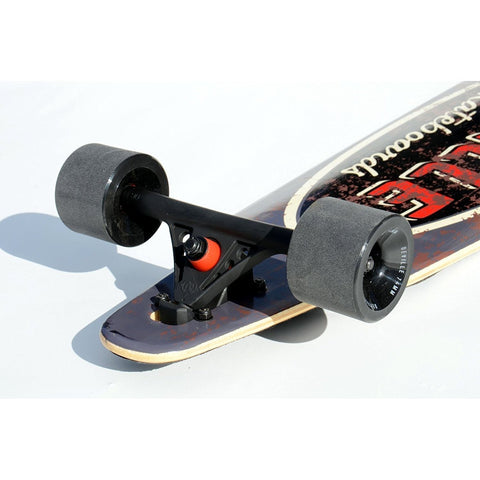Deville Rat Rod 42-Inch Drop Through Freeride Longboard - Longboard Ridetique.com