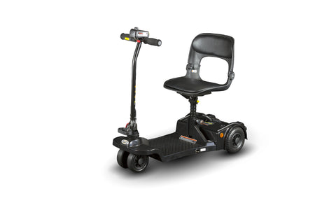 Echo Folding Scooter by ShopRider - Mobility Scooter Black Ridetique.com