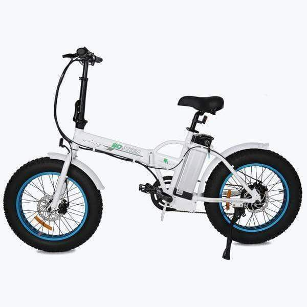 "Ecotric - 20"" Fat Tire 36V 500W Folding Electric Bike"