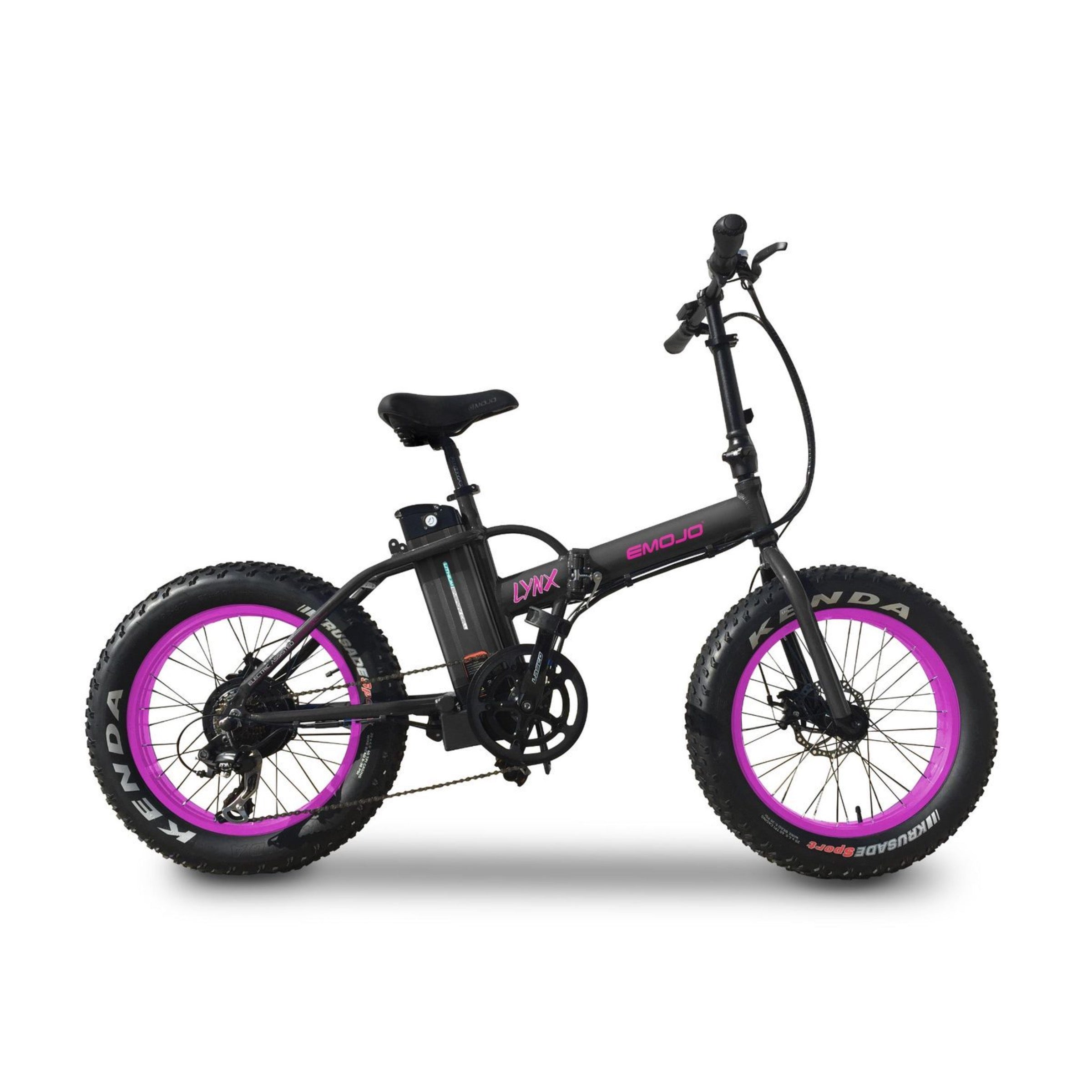 Emojo - LYNX 500w 36v Folding Fat Tire
