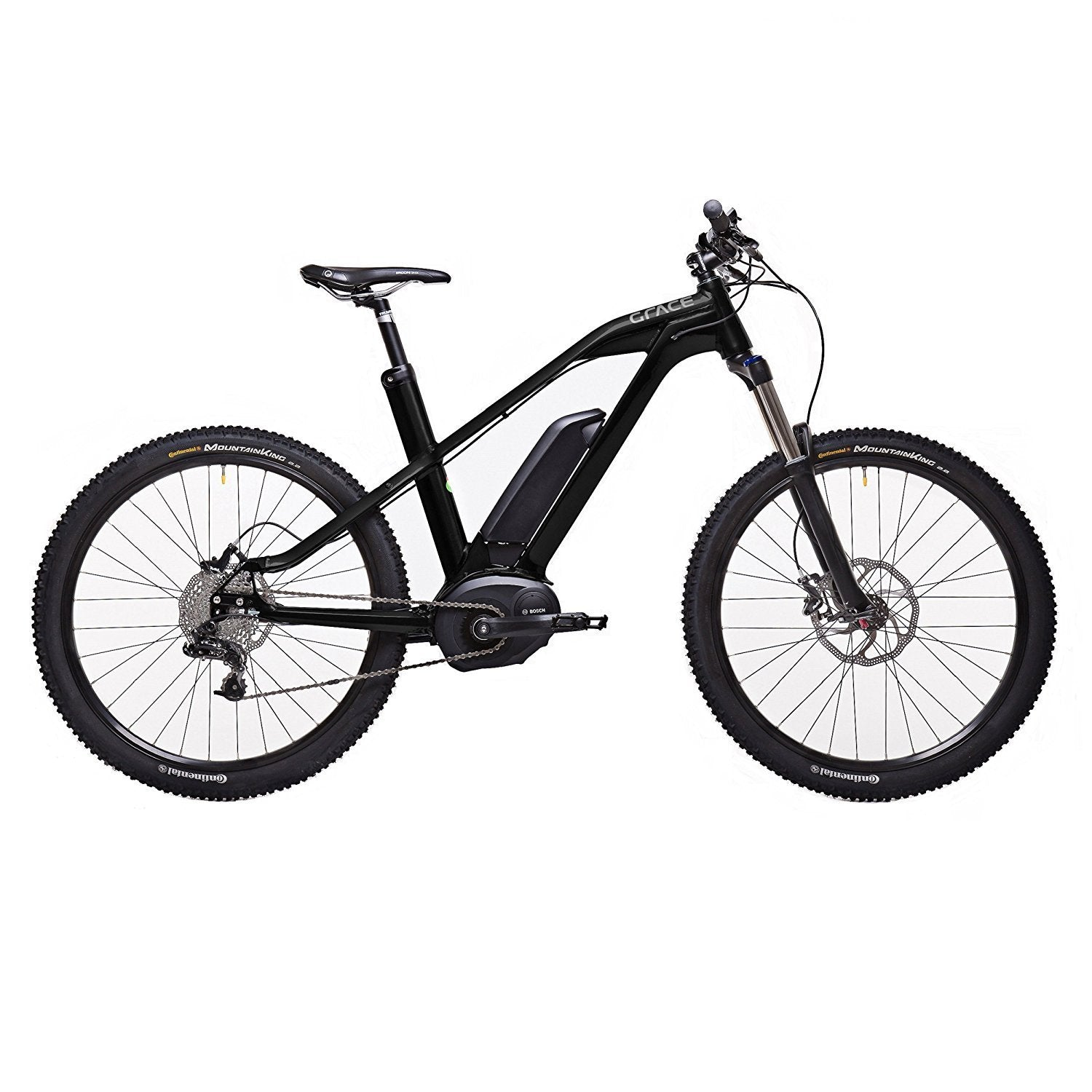 Grace MX II Trail 350w Bosch Electric Mountain Bike - Electric Bike 16.5 Inch Ridetique.com