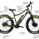 RAMBO KRUSADER AWD X2 500 W TRUE TIMBER VIPER WOODLAND XTREME PERFORMANCE - Electric Bike Ridetique.com