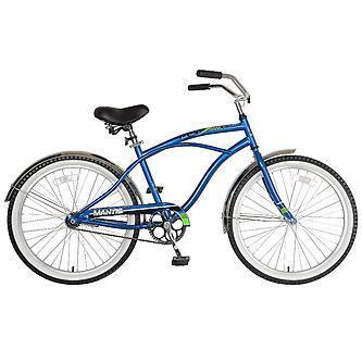 Mantis Beach Hopper Single Speed Men's Cruiser Bicycle - Bicycle 24 Inch (Junior Size) Ridetique.com