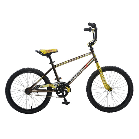 Mantis Growl Single Speed Ready2Roll Kids Bicycle - Kids Bicycle 20 Inch / Black Ridetique.com