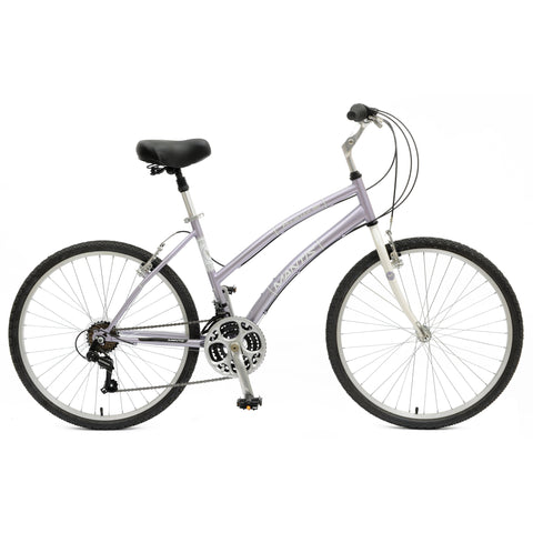 Mantis Premier 21 Speed 26-Inch Comfort Bicycle - Bicycle 17 Inch (Ladies') Ridetique.com