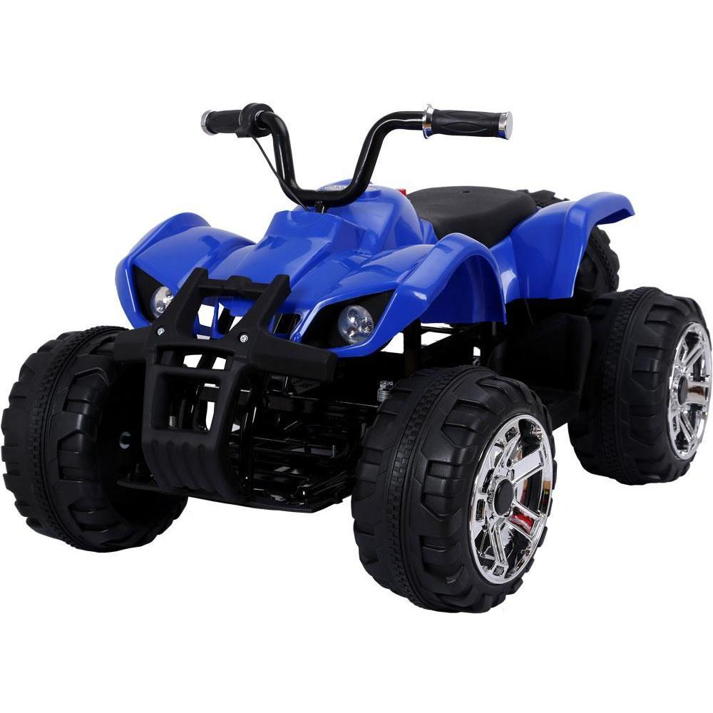 Mini Moto 24v 45w Kids Big Wheel ATV - Ride On Toys Blue Ridetique.com