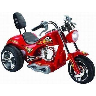 Mini Motos 12v Red Hawk Kids Ride On Electric Motorcycle - Ride On Toys Red Ridetique.com