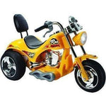 Mini Motos 12v Red Hawk Kids Ride On Electric Motorcycle - Ride On Toys Yellow Ridetique.com