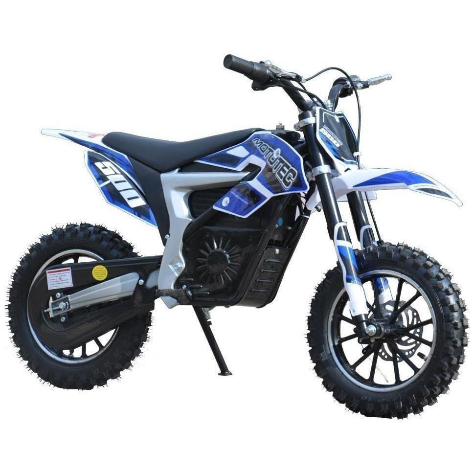 Zoom Electric Dirt Bike Not Lossing Wiring Diagram 36v Motorcycle Mototec 500w Powered Lithium In Blue Ridetique Rh Com Razor