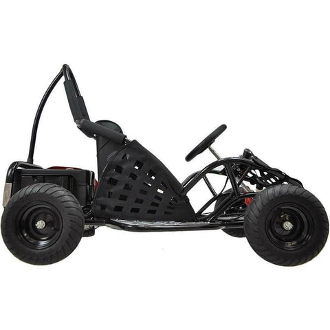 MotoTec 48v 1000W Electric Powered Go-Kart - Electric Go Kart Ridetique.com