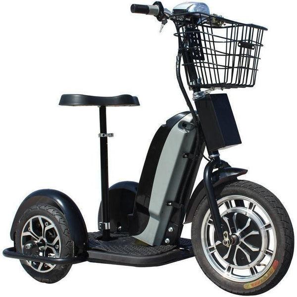 Mototec 48v 800w Sit Or Stand 3 Wheel Electric Powered