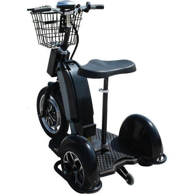 MotoTec 48v 800w Sit or Stand 3 Wheel Electric Powered Trike