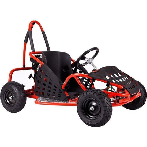 MotoTec 79cc 2.5Hp Gas Powered Off Road Go-Kart - Gas Go-Kart Ridetique.com