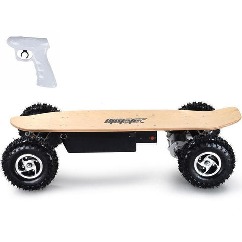 MotoTec Dirt 36v 1600w Dual Motor Electric Powered Skateboard - Electric Skateboard Ridetique.com